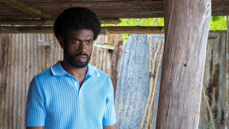 Djedje Apali acteur français sur le film Le Gang des Antillais