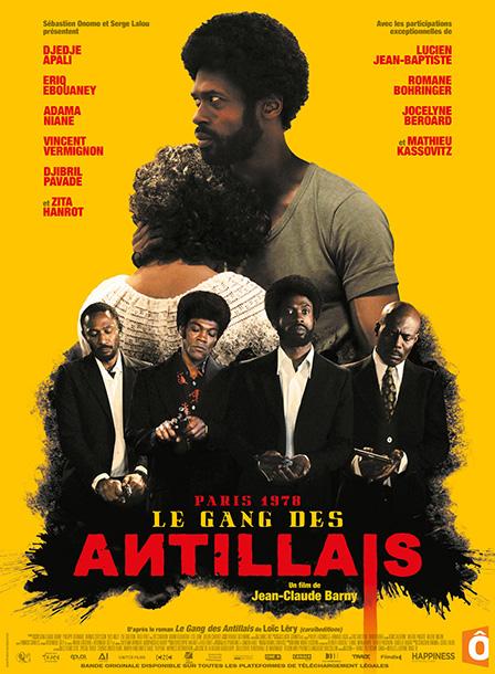 """Affiche du film """"Le Gang des Antillais"""""""