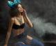 Creative retouching french magazine lingerie