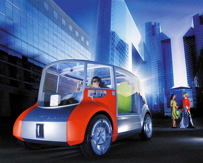Création des visuels Citroën pour le Mondial de l'auto, photo 01