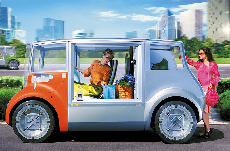 Création des visuels Citroën pour le Mondial de l'auto, photo 02