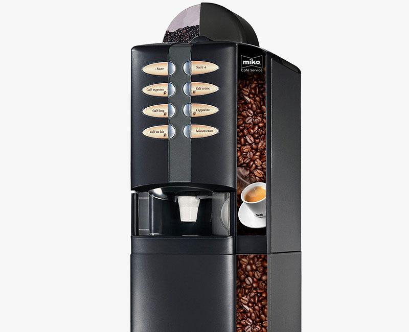 Photos et postproduction machines à café
