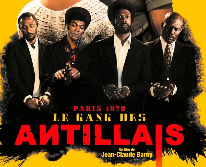 Shooting photo film Le Gang des Antillais